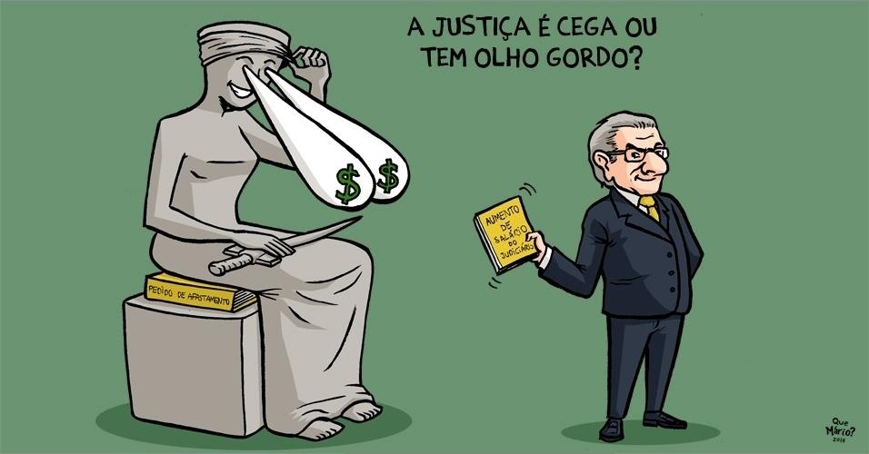 3.mai.2016 - Até a Justiça tem seu preço?