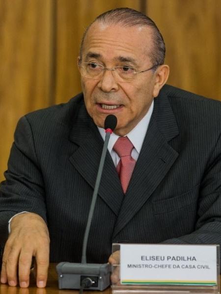 Ministro-chefe da Casa Civil, Eliseu Padilha - Eduardo Anizelli/Folhapress