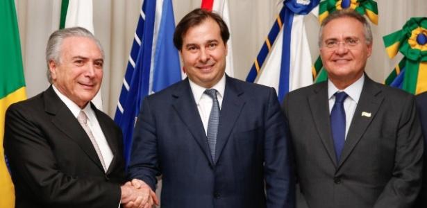 Após tomar posse, Temer viaja e Maia assume interinamente a Presidência - Reprodução/Twitter