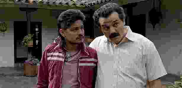 Limón e Pablo Escobar na série Narcos - Reprodução/Netflix - Reprodução/Netflix
