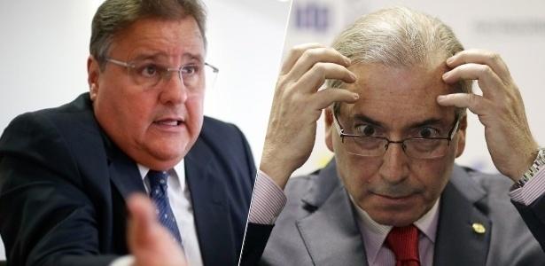 Geddel (e) e Cunha estão entre os investigados