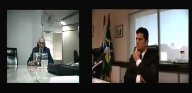 """Eduardo Suplicy se dispôs a levar exemplares de """"Renda da cidadania: a saída é pela porta"""" e """"Um notável aprendizado: a busca da verdade e da justiça do boxe ao Senado"""" para o gabinete de Moro, em Curitiba"""
