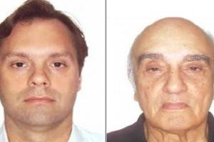 Bruno Gonçalves Luz (esq.) e Jorge Luz, lobistas ligados ao PMDB