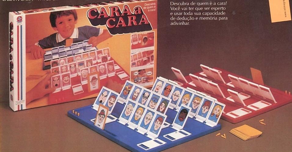 Jogo Cara a Cara da Estrela foi lançado em 1986