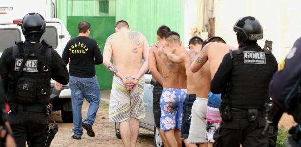 Dez presos foram mortos na manhã desta segunda-feira (29) durante rebelião na Cadeia Pública de Itapajé, a 125 km de Fortaleza
