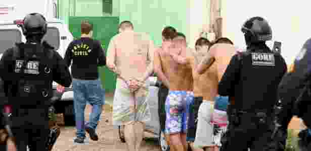 Dez presos foram mortos na manhã desta segunda-feira (29) durante rebelião na Cadeia Pública de Itapajé, a 125 km de Fortaleza - Wellington Macedo/Estadão Conteúdo - Wellington Macedo/Estadão Conteúdo