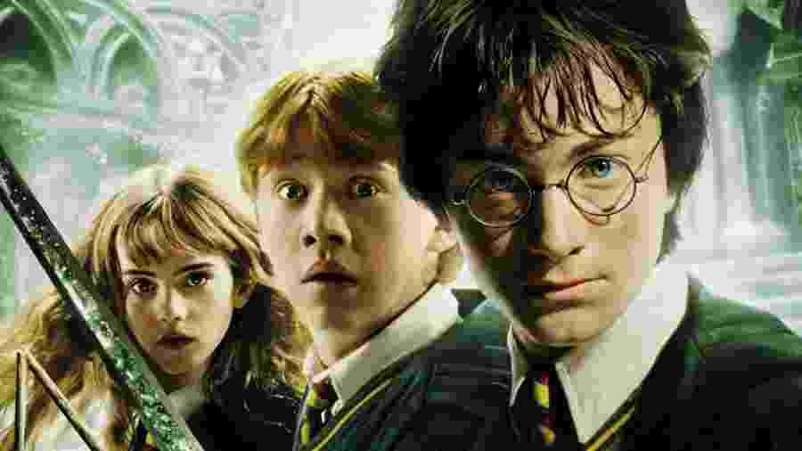 """Pôster de """"Harry Potter e a Câmara Secreta"""" - Divulgação"""