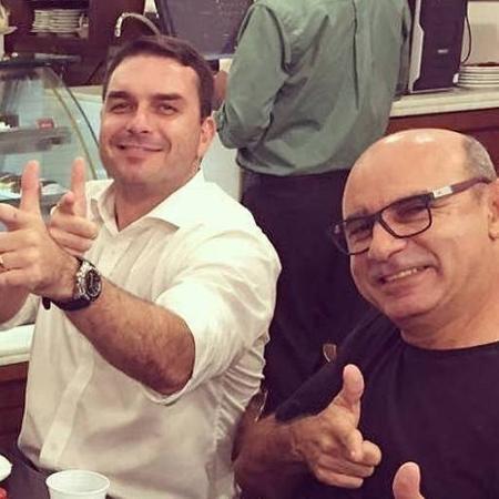 Blog do Barão- Flavio Bolsonaro e Fabrício Queiroz