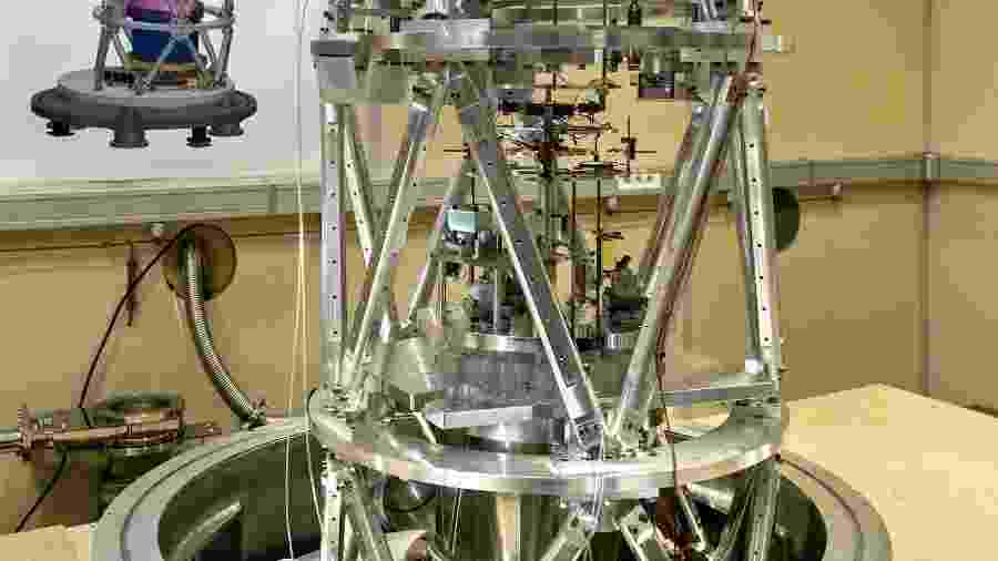 Balança de Kibble ou de Watt que será usada para medir o quilograma - Divulgação/Escritório Internacional de Pesos e Medidas