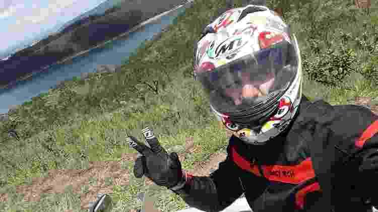 Miguel Barbosa motoqueiro - Reprodução/Facebook - Reprodução/Facebook