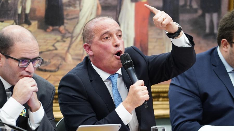 Onyx citou ainda a aprovação da reforma da Previdência e o envio de outras medidas pela equipe econômica ao Congresso - Pablo Valadares/Câmara dos Deputados