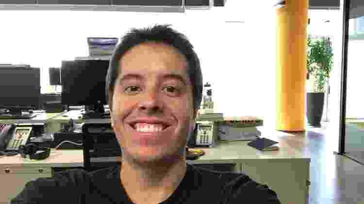 FaceApp - foto original - Gabriel Francisco Ribeiro/UOL