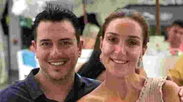 Bernardo e Patrícia Schucman estão correndo para conseguir o visto para os EUA - Arquivo pessoal - Arquivo pessoal
