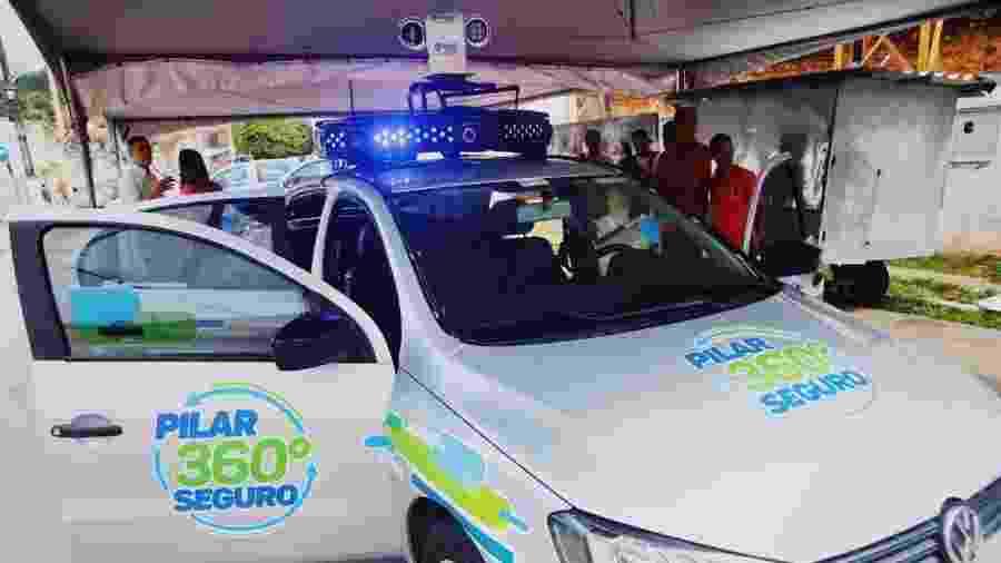 Pilar 360 Graus: carro com reconhecimento facial é lançado em Alagoas - Tasso Ramon/Prefeitura de Pilar