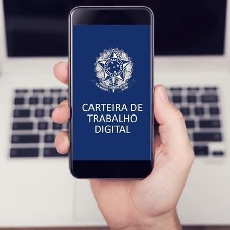 Carteira de Trabalho digital - Ministério da Economia/Divulgação
