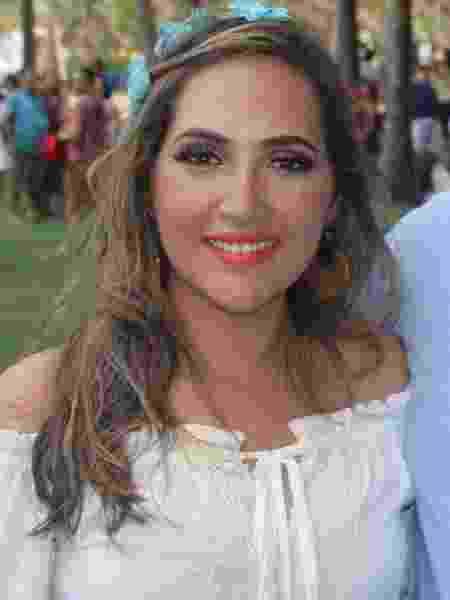 Psicóloga Nayara Pinho é uma das vítimas do desabamento de edifício em Fortaleza - Arquivo pessoal