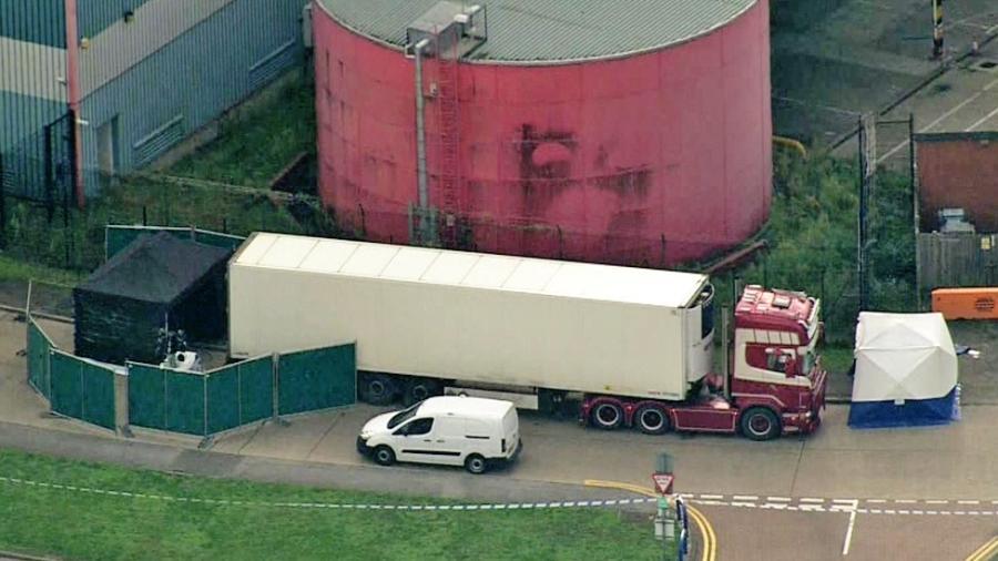 Corpos foram achados dentro de contêiner refrigerado de caminhão - PA Media