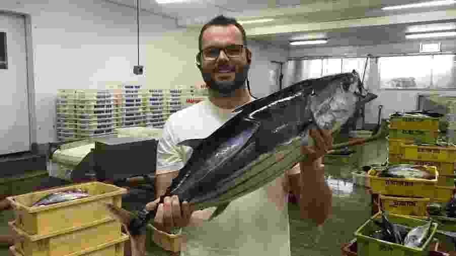 O empresário e secretário de Aquicultura e Pesca, Jorge Seif Júnior, em foto de 2018 - Reprodução