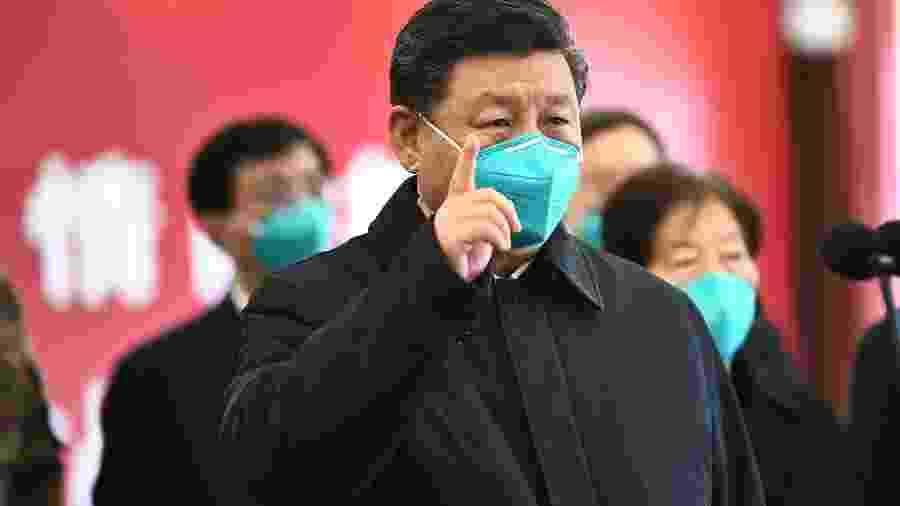 Coronavírus é cercado de notícias falsas de todos os tipos nas redes sociais - XIE HUANCHI/AFP