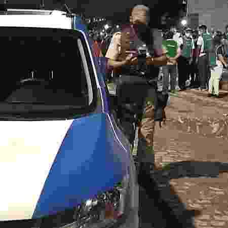 Polícia Militar encerra culto que causou aglomeração proibida em Salvador - Polícia Militar da Bahia/Divulgação