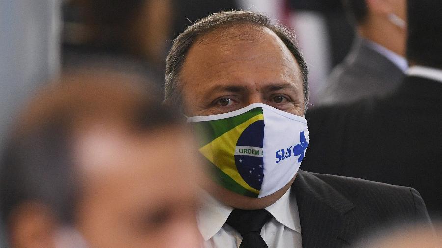 Governadores pedem que Pazuello assuma a coordenação de um plano nacional de vacinação - Edu Andrade/Fatopress/Estadão Conteúdo