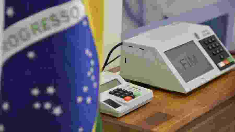 Urna  - José Cruz/Arquivo/Agência Brasil