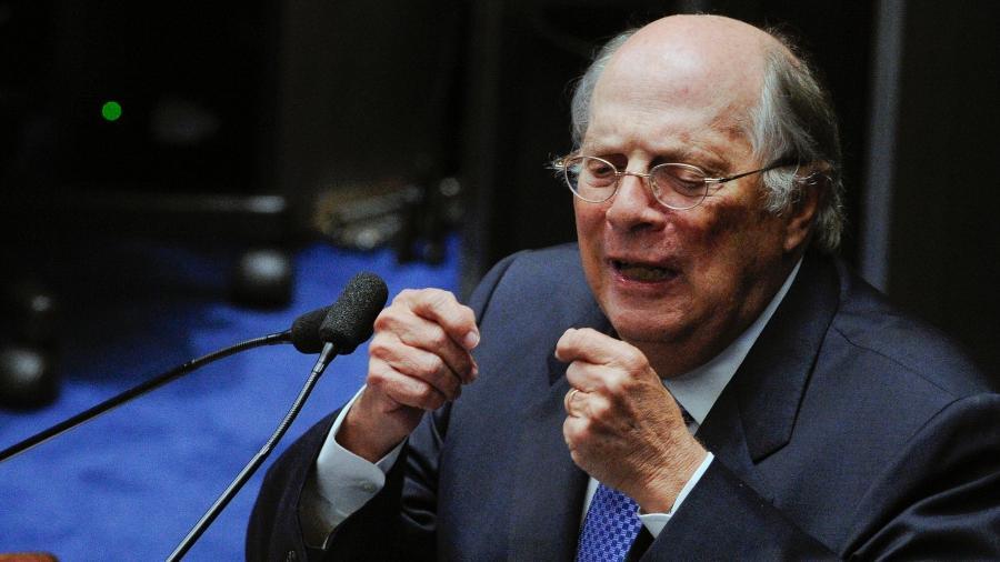 O jurista Miguel Reale Jr. criticou a gestão de Jair Bolsonaro na pandemia  - Edilson Rodrigues/Agência Senado