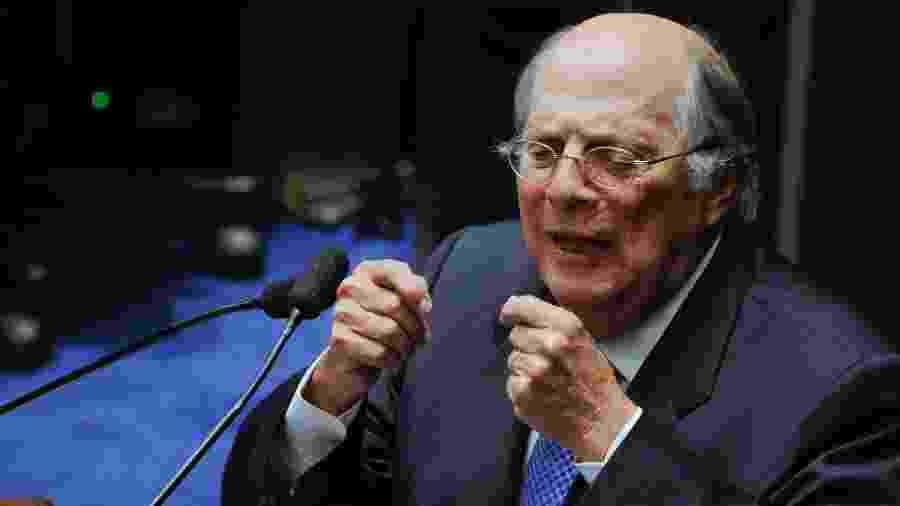 """""""Trata-se de crime de responsabilidade, com certeza"""", opinou o jurista Miguel Reale Jr. à Veja - Edilson Rodrigues/Agência Senado"""