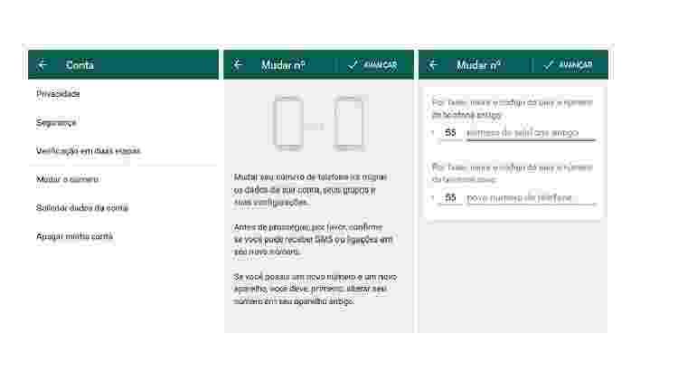 Imagem 2: Veja como trocar no WhatsApp para não perder nada - Reprodução - Reprodução