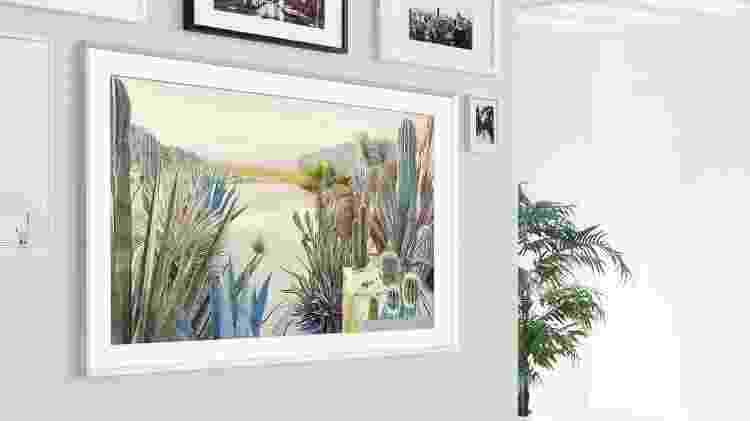 TV The Frame (2021), da Samsung - Divulgação - Divulgação