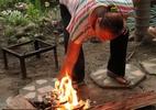 Crise na Venezuela: Uso da cozinha a lenha por falta de gás faz interior