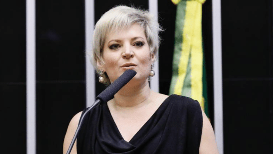 Joice Hasselmann (PSL-SP) já foi líder do governo Bolsonaro na Câmara dos Deputados - Divulgação