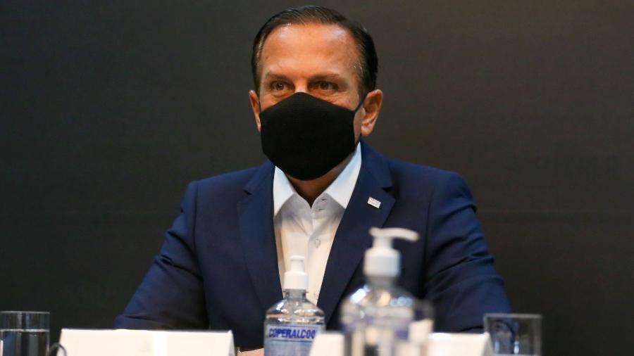 Governador João Doria (PSDB) critica ex-ministro Eduardo Pazuello e governo Bolsonaro após denúncia de negociação da CoronaVac por triplo do preço - Divulgação/Governo de São Paulo