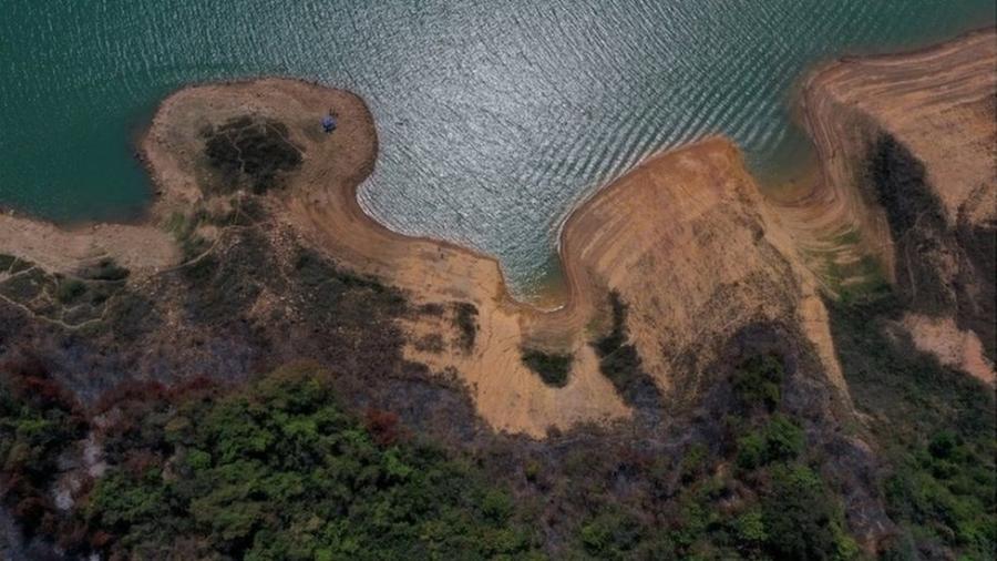 Maior hidrelétrica do subsistema Sudeste, reservatório de Furnas está com 15% da sua capacidade - Reuters