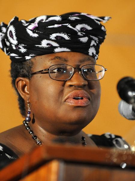 Ngozi Okonjo-Iweala, nova diretora-geral da OMC - Pius Utomi Ekpei/AFP
