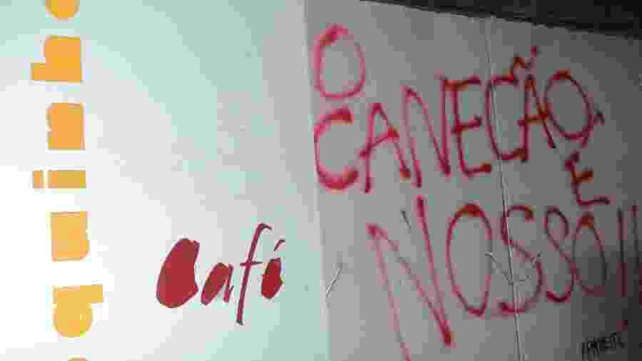 Imagem de 2012, quando estudantes da UFRJ ocuparam o imóvel onde ficava o Canecão - Marcelo Fonseca/Brazil Photo Press/AE