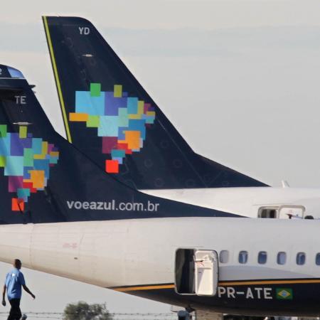 Azul trabalha para ampliar seus serviços com o uso de drone e a adoção de caixas de retirada de encomendas - Juca Varella/Folhapress