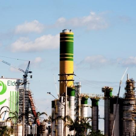12.dez.2012 - Fabrica de celulose da Eldorado Brasil em Três Lagoas (MS)  - Divulgação