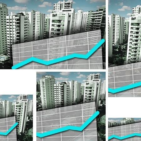 Veja quanto rendem em média alugar casa ou apartamento e fundos imobiliários residenciais - Arte/UOL