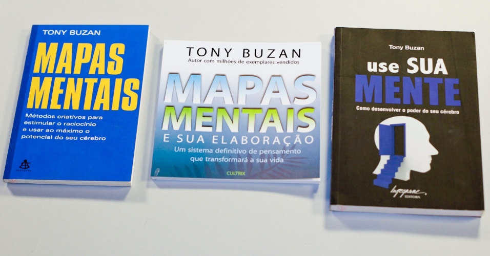 Bibliografia básica, indicada pela especialista Liz Kimura, para quem quer aprender mais sobre a técnica de mapas mentais