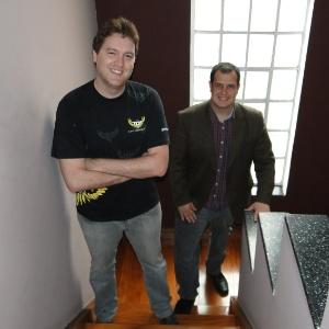 Fernando Plapler e Fábio Barboni transformaram a paixão por festas de faculdade em negócio - Divulgação