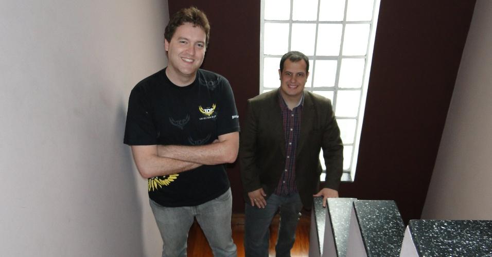 Fábio Baroni e Fernando Plapler, fundadores do Grupo Top