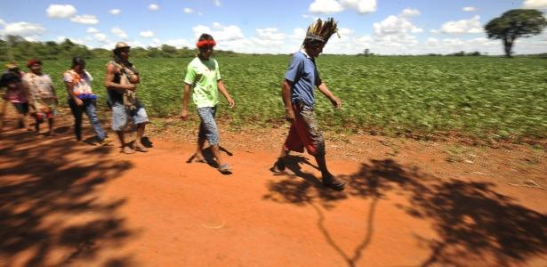 Índios Guarani-Kaiapó: reserva indígena é exemplo de espaço geográfico demarcado por dinâmica social
