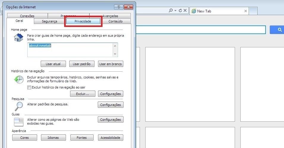 Mozilla Firefox. Na nova janela, no menu superior, procure pela opção 'Conteúdo' e clique nelaSaiba como impedir pop-ups de abrirem automaticamente no navegador