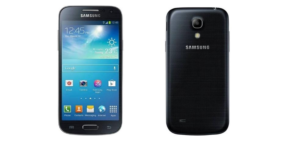30.mai.2013 - A Samsung apresentou uma versão do smartphone Galaxy S4 chamada Galaxy S4 Mini. Como o próprio nome sugere, o smartphone é uma versão menor do aparelho topo de linha da marca sul-coreana