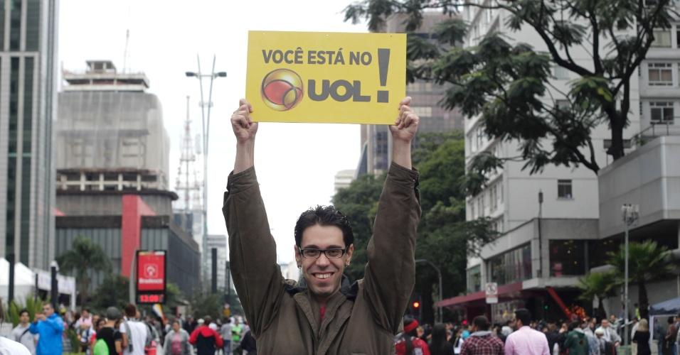 2.jun.2013 - O escriturário Adriano Mascarenhas, 28, diz acreditar que