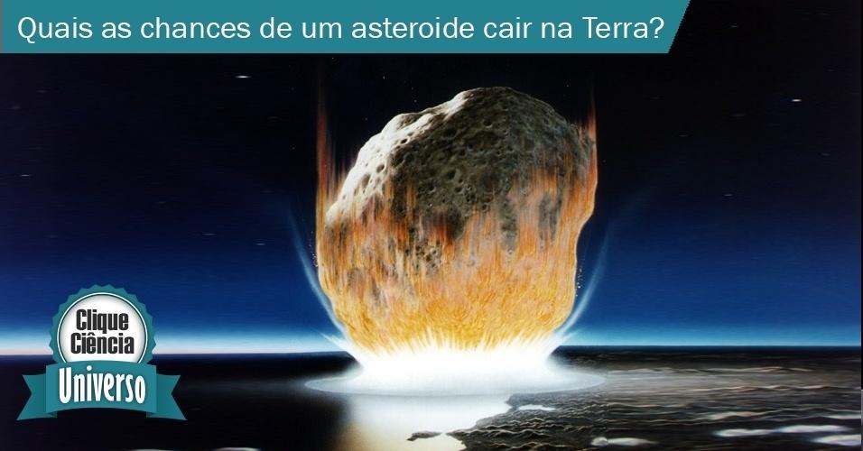 Colisão asteroide