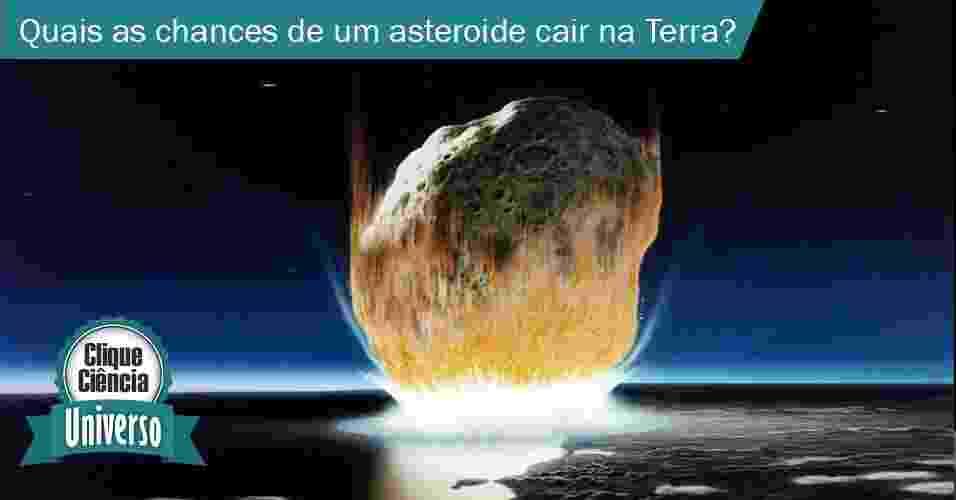Colisão asteroide - Don Davis/Nasa