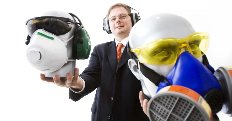 Equipamento proteção individual, segurança do trabalho