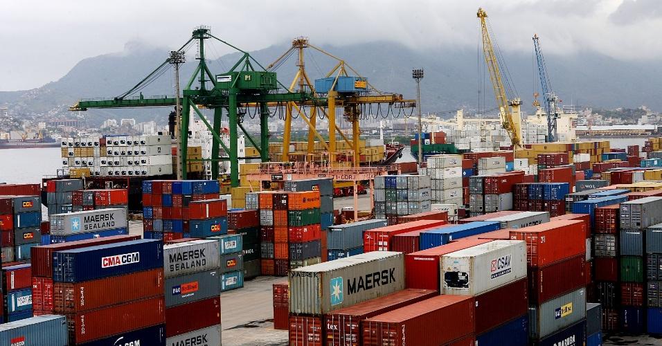Porto, exportação, estoque